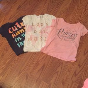 Girls shirt sleeves shirts size 4t